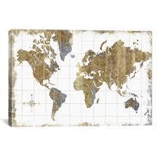 <b>World Map Wall</b> Art