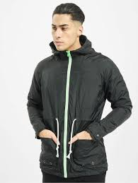 <b>Urban Classics Куртка</b> / Демисезонная <b>куртка Long</b> Nylon черный ...