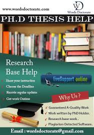 thesis writing help in india Phd Thesis Writing Service In India Thesis Thesis Phd Thesis Writing