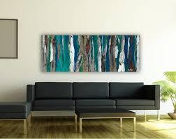contemporary modern artwork in living room dining room entry blue dark teal contemporary living blue dark trendy living room