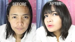korean y makeup transformation
