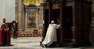 Image result for pope francis kneeling