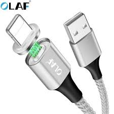 <b>OLAF</b> Double-Side Lighting LED Magnetic Fast Charge Type Cable ...