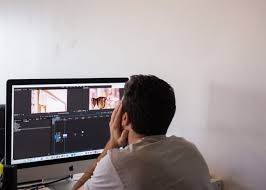 video editing coworking space spacious private office coding build office video