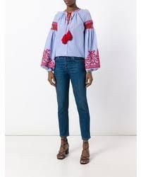 Голубая <b>блуза</b>-крестьянка от <b>Wandering</b>, 31,326 руб. | farfetch ...
