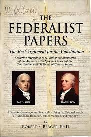 Vote No on   Federalist Number