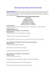 sample engineering resumes  tomorrowworld cosample engineering
