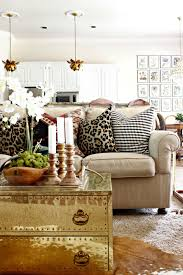 Leopard Print Living Room Early Fall Home Tour 2015 Lotus Coffee And Tables