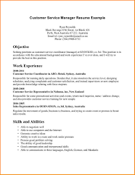 customer service resume objectives worker resume 10 customer service resume objectives