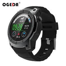 <b>OGEDA</b> Men GPS <b>Smart Watch</b> 2018 <b>Sport</b> Heart Rate Barometer ...