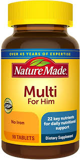 Nature Made Men's Multivitamin Tablets, 90 Count for ... - Amazon.com
