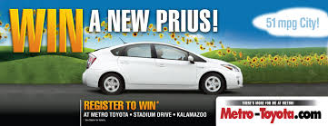 register to win a new prius from metro toyota metro toyota kzoo stop in to metro toyota and register today