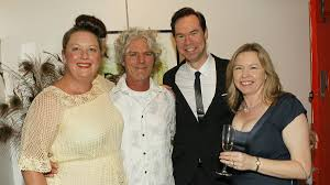 gallery time out in the illawarra illawarra mercury sharron robson bruce collins and alex and meredith sturman