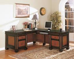 modern stylish l shaped desk black shaped office desks