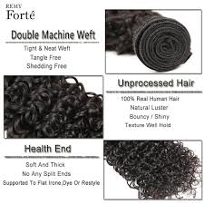 remy forte water wave bundles with closure 30 inch brazilian hair weave 3 4