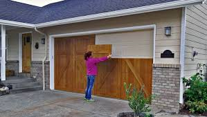 Image result for wooden garage door