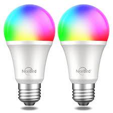 <b>Комплект умных ламп</b> Nitebird Smart bulb 2 шт., цвет мульти ...