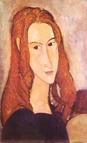 Amedeo Modigliani: Testa di Jeanne Hébuterne - 43%2520modigliani%2520-%2520testa%2520di%2520jeanne%2520hebuterne%2520verso%2520destra