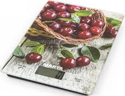 <b>Кухонные весы Marta</b> Садовая вишня, сенсорные, <b>Mt</b>-<b>1634</b> ...