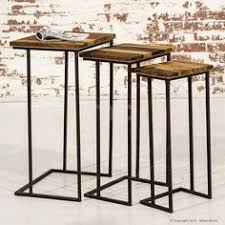 nest of tables industrial furniture artisan buy industrial furniture