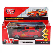 Машина <b>Технопарк Honda</b> Civic Спорт 12 см CIVIC-S Артикул ...