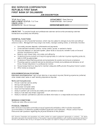 bartender description for resume bartender resume job description food server job description