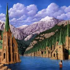 mind bending paintings by canadian artist rob gonsalves magic realism paintings illusions rob gonsalves 18