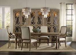 hand carved dining table timeless interior designer: hooker furniture solana rectangle dining table w  in leaves