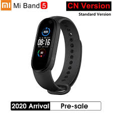 <b>2020 New Xiaomi</b> Mi Band 5 Smart Bracelet Color AMOLED Screen ...