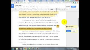 editing student essays in google drive   youtube editing student essays in google drive