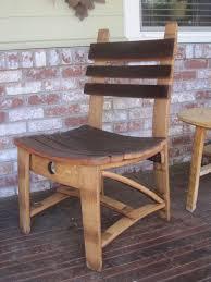 <b>Dining Chair</b> made from <b>Wine</b> Barrel Staves | Etsy | <b>Wine</b> barrel ...