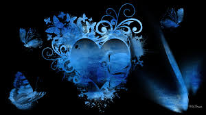Image result for blue hearts