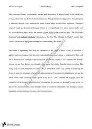 english essay american dream   durdgereport   web fc  comenglish essay american dream