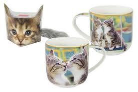 <b>Кружка</b> Целующиеся <b>котята в</b> подарочной упаковке + брелок ...