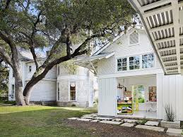 travis heights art studio this is an example of a traditional exterior in austin best lighting for art studio