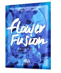 Online Only Flower Fusion Lavender Soothing Sheet ... - Amazon.com
