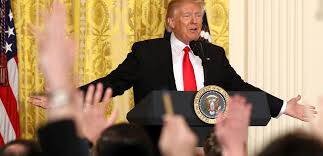 Image result for trump press conference pic
