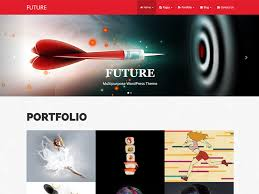 portfolio wordpress themes designorbital pin it
