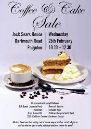 coffee cake rowcroft hospice coffee and cake poster jpg