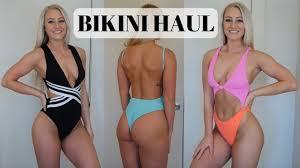 <b>Bikini</b> & <b>One</b>-<b>Piece Swimsuit</b> Try-On Haul & Review | Zaful, H&M ...