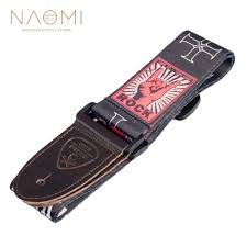 <b>Naomi Nylon Guitar</b> Strap <b>Adjustable Guitar</b> Strap Belt Flower ...