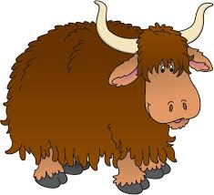 Image result for cute yak clipart