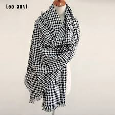 <b>2019</b> Luxury Brand Scarf for Women plaid bufandas mujer black ...