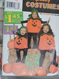 Childs <b>Pumpkin</b> Children's <b>Costume Stage</b> Play <b>Halloween</b> ...