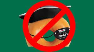 Arrrgh, there be no free Krispy Kreme doughnuts for Talk Like a ...