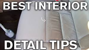 Best Interior Detailing Tricks: Leather and Plastics - YouTube