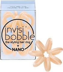 <b>Invisibobble</b> The Traceless Hair Ring - '<b>Nano' - To Be</b> or Nude To Be ...