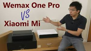 <b>Wemax One Pro</b> vs Xiaomi Mi Laser Projector: What's The Difference?