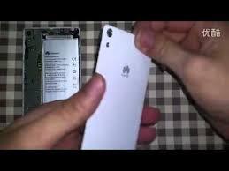 Huawei Ascend P6 zerlegen disassembly - YouTube