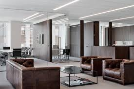 modern office with leather furniture amazing modern office design